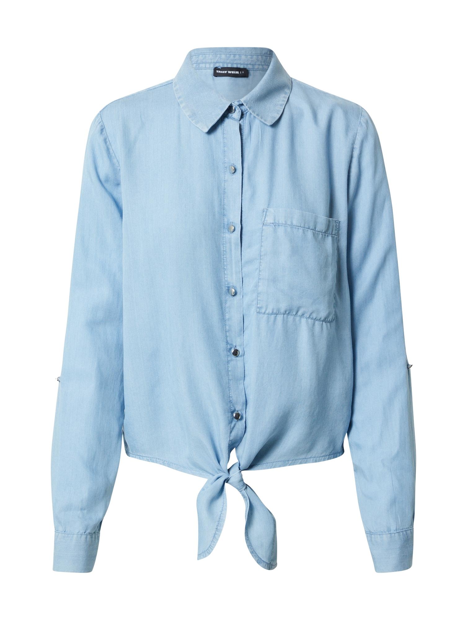 Tally Weijl Palaidinė tamsiai (džinso) mėlyna