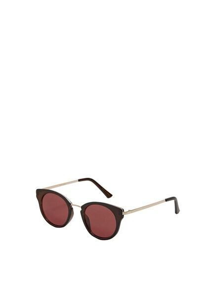 Sonnenbrillen für Frauen - MANGO Sonnenbrille 'Ruby' chamois schoko bronze  - Onlineshop ABOUT YOU