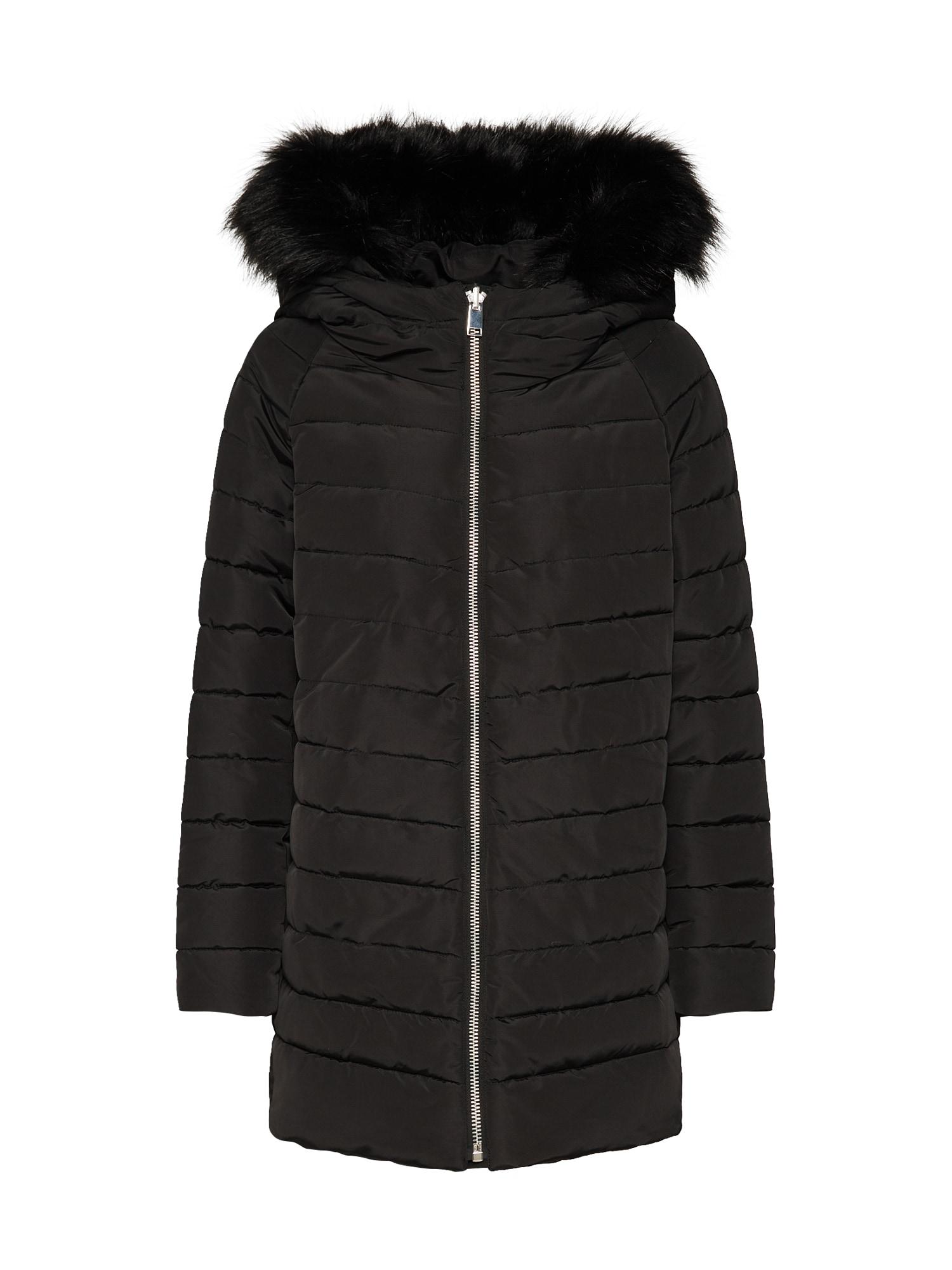 ESPRIT Žieminis paltas juoda
