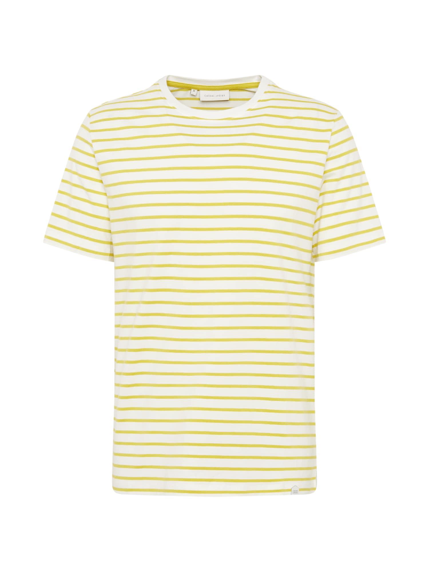 Casual Friday Marškinėliai 'CFTroels' žaliosios citrinos spalva