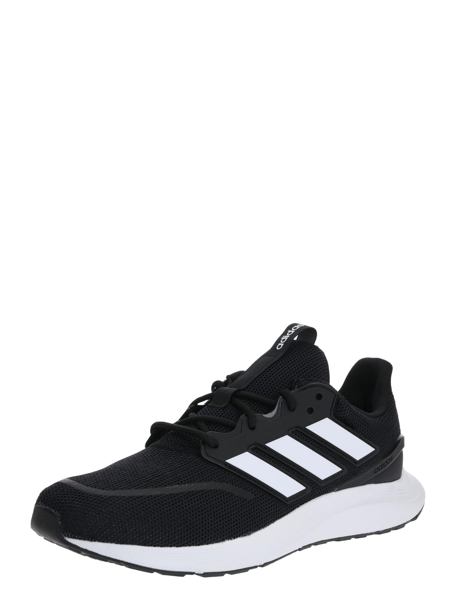 ADIDAS PERFORMANCE Bėgimo batai 'Energyfalcon' balta / juoda