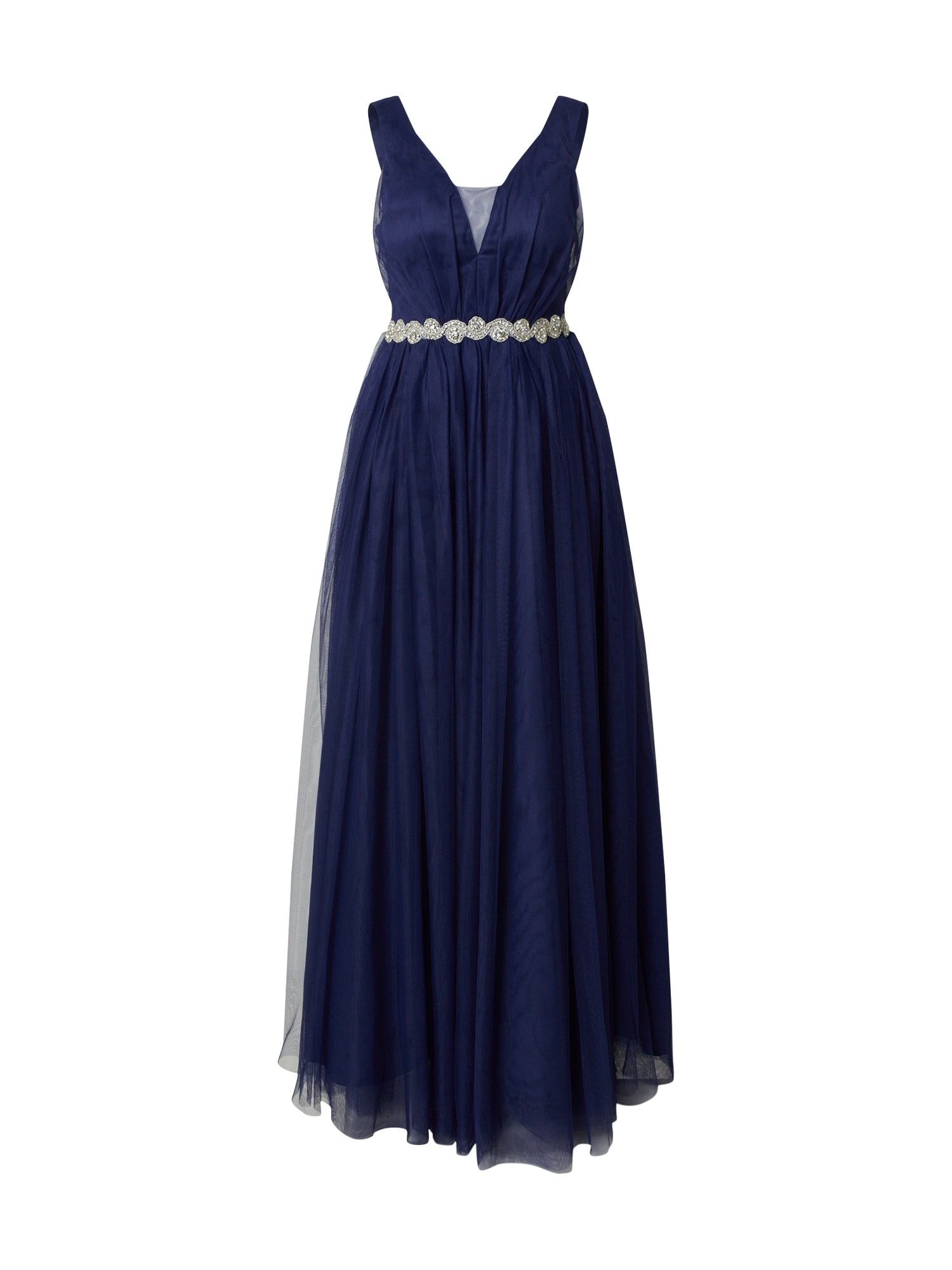 Forever Unique Vakarinė suknelė mėlyna dūmų spalva / tamsiai mėlyna