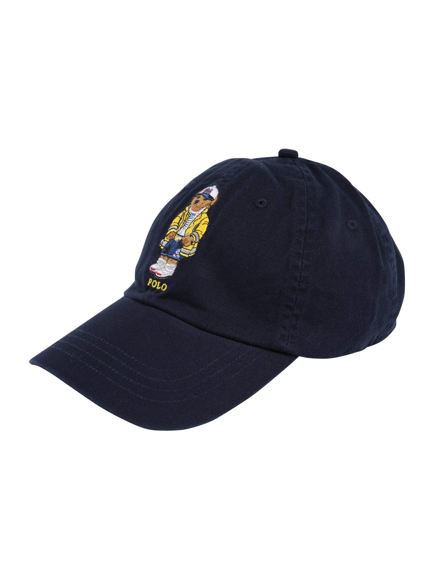 POLO RALPH LAUREN Kepurė 'COTTON TWILL-CLASSIC SPORT CAP' tamsiai mėlyna