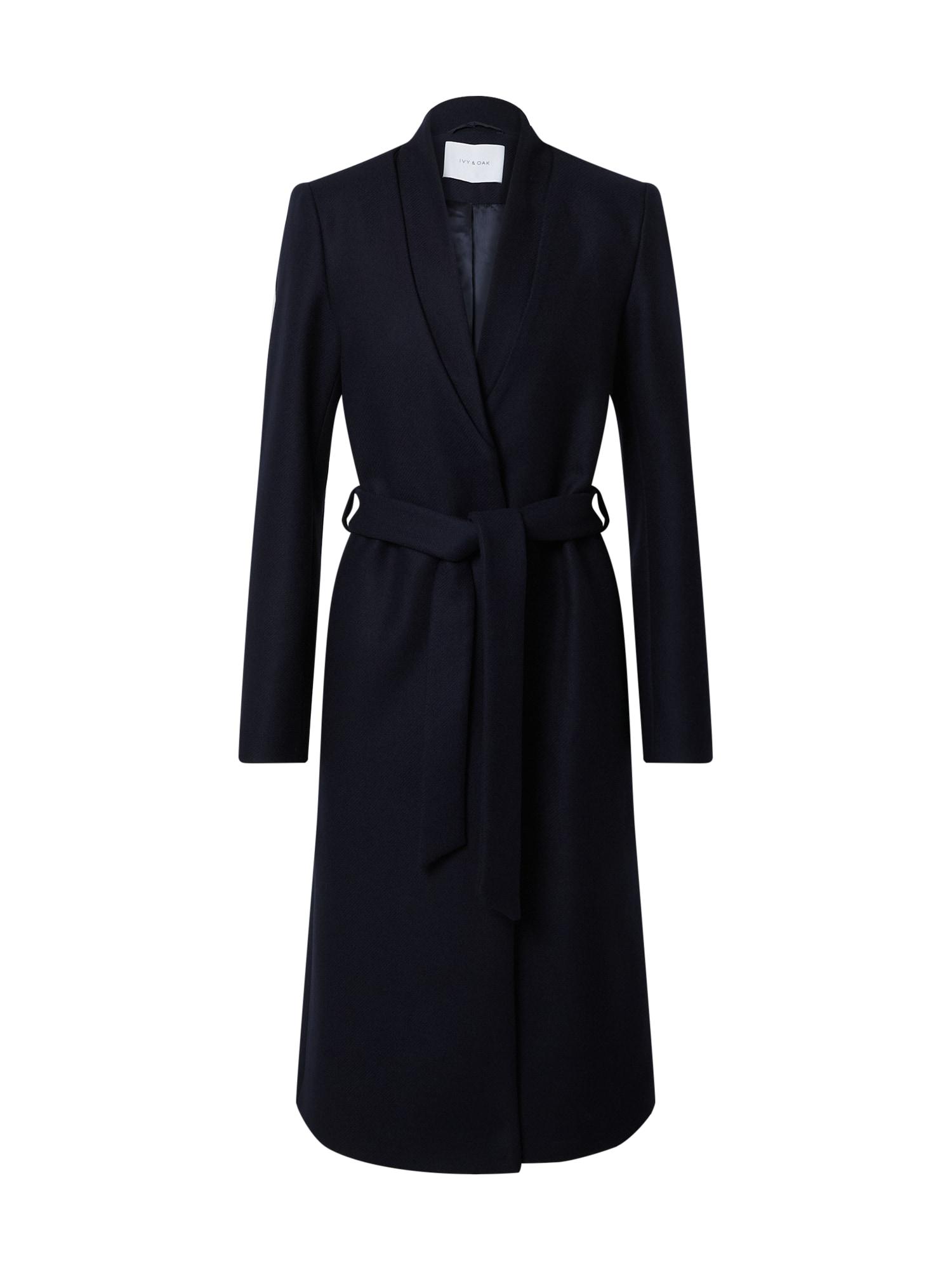 IVY & OAK Demisezoninis paltas nakties mėlyna