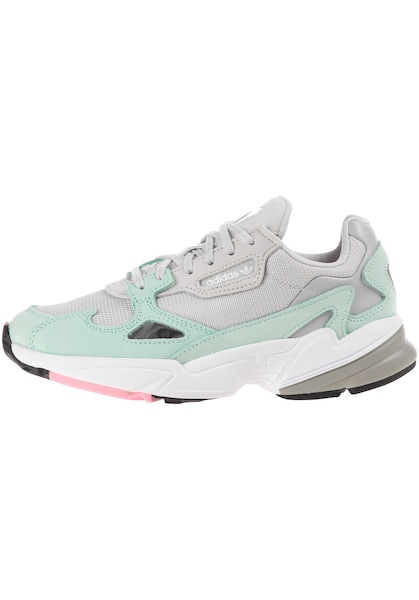 Sneakers für Frauen - ADIDAS ORIGINALS Sneaker 'Falcon' grau mint  - Onlineshop ABOUT YOU