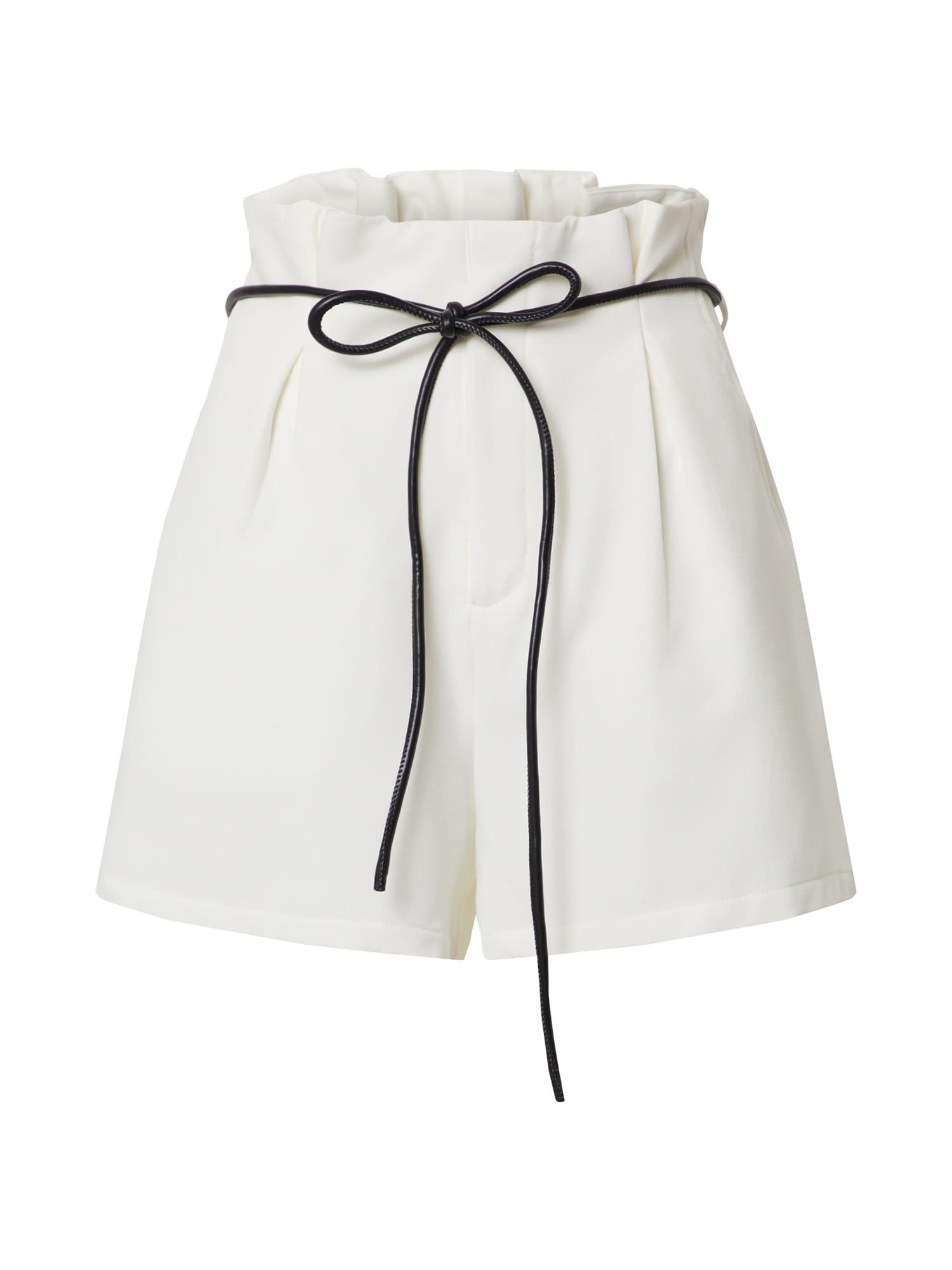 4th & Reckless Klostuotos kelnės 'MOLLIE' balta
