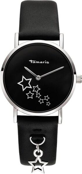 Uhren für Frauen - Uhr 'Bente, TW079' › tamaris › schwarz silber  - Onlineshop ABOUT YOU