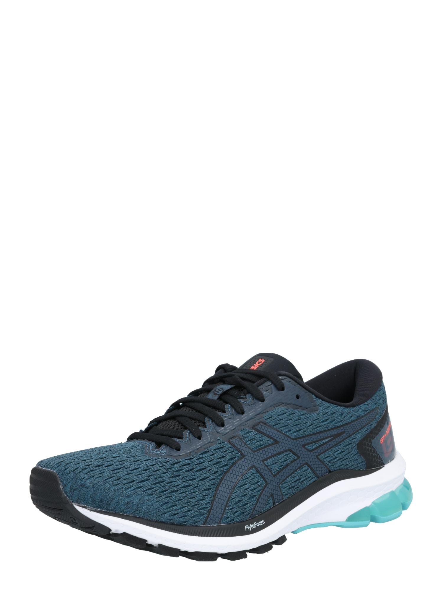 ASICS Bėgimo batai juoda / benzino spalva