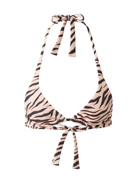 Bademode - Bikini Top 'Sunny' › CATWALK JUNKIE › braun beige rosa  - Onlineshop ABOUT YOU