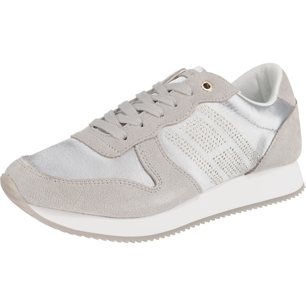 Sneakers für Frauen - Sneakers › Tommy Hilfiger › taupe silber  - Onlineshop ABOUT YOU