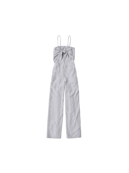 Hosen - Jumpsuit › Abercrombie Fitch › blau weiß  - Onlineshop ABOUT YOU