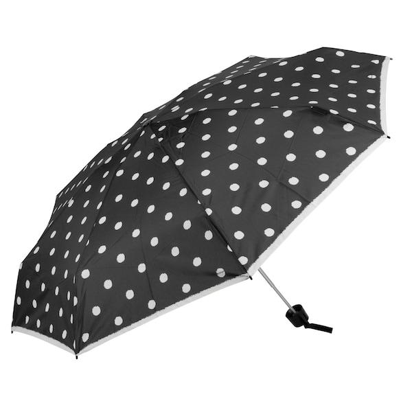 Regenschirme - Taschenschirm 'T.010 Small Manual' › knirps › schwarz weiß  - Onlineshop ABOUT YOU