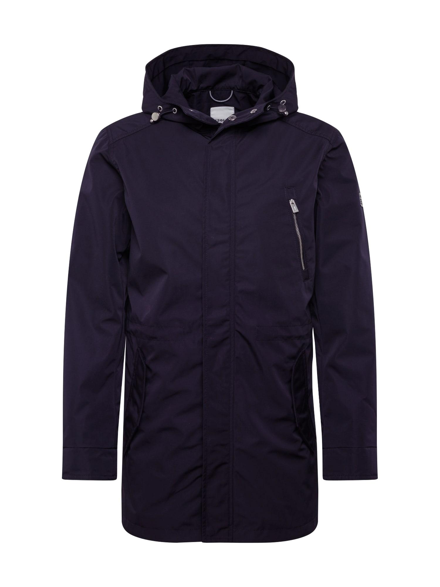 !Solid Ilga rudeninė-žieminė striukė 'Hines' juoda