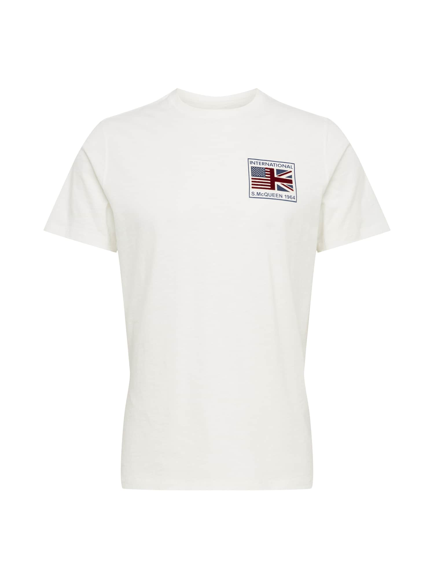 Barbour International Marškinėliai 'B.Intl SMQ Team Flag T ' balta