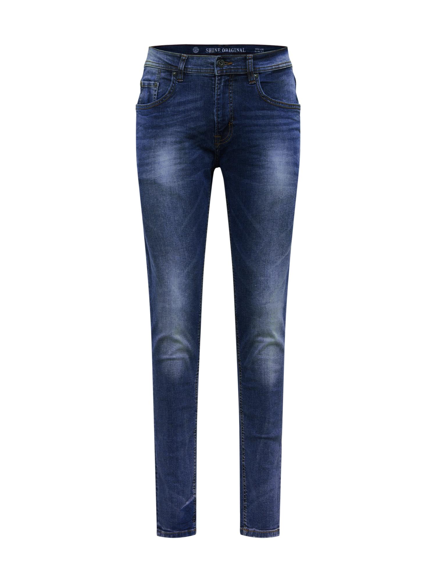 SHINE ORIGINAL Džinsai tamsiai (džinso) mėlyna