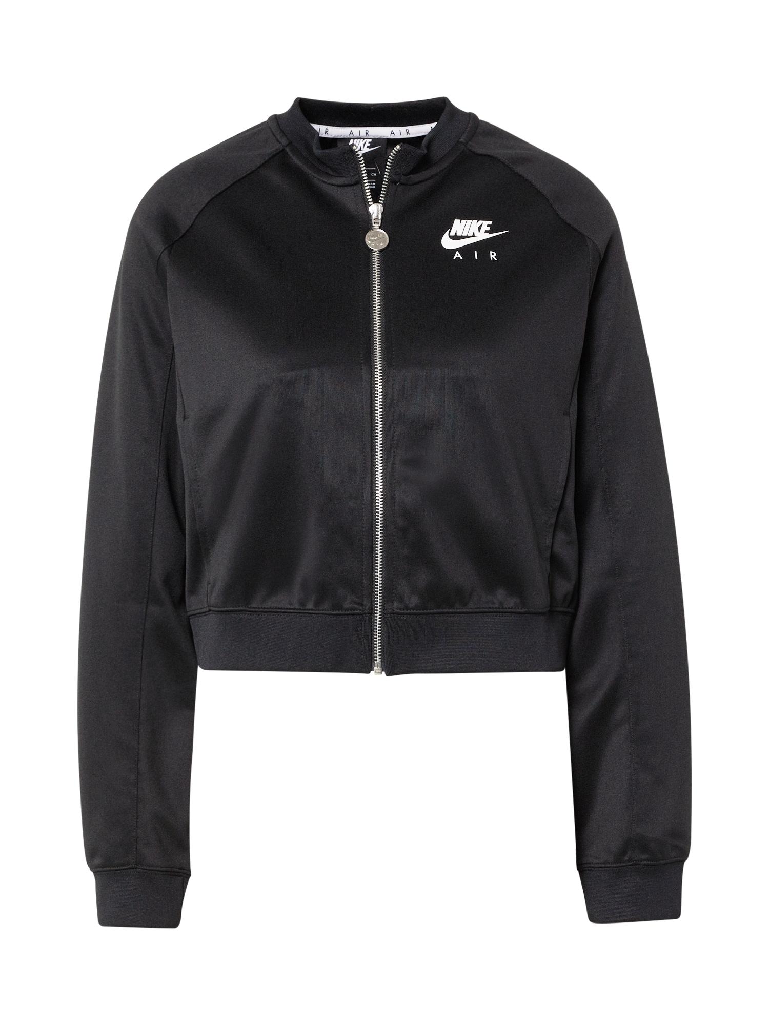 Nike Sportswear Demisezoninė striukė 'AIR' juoda