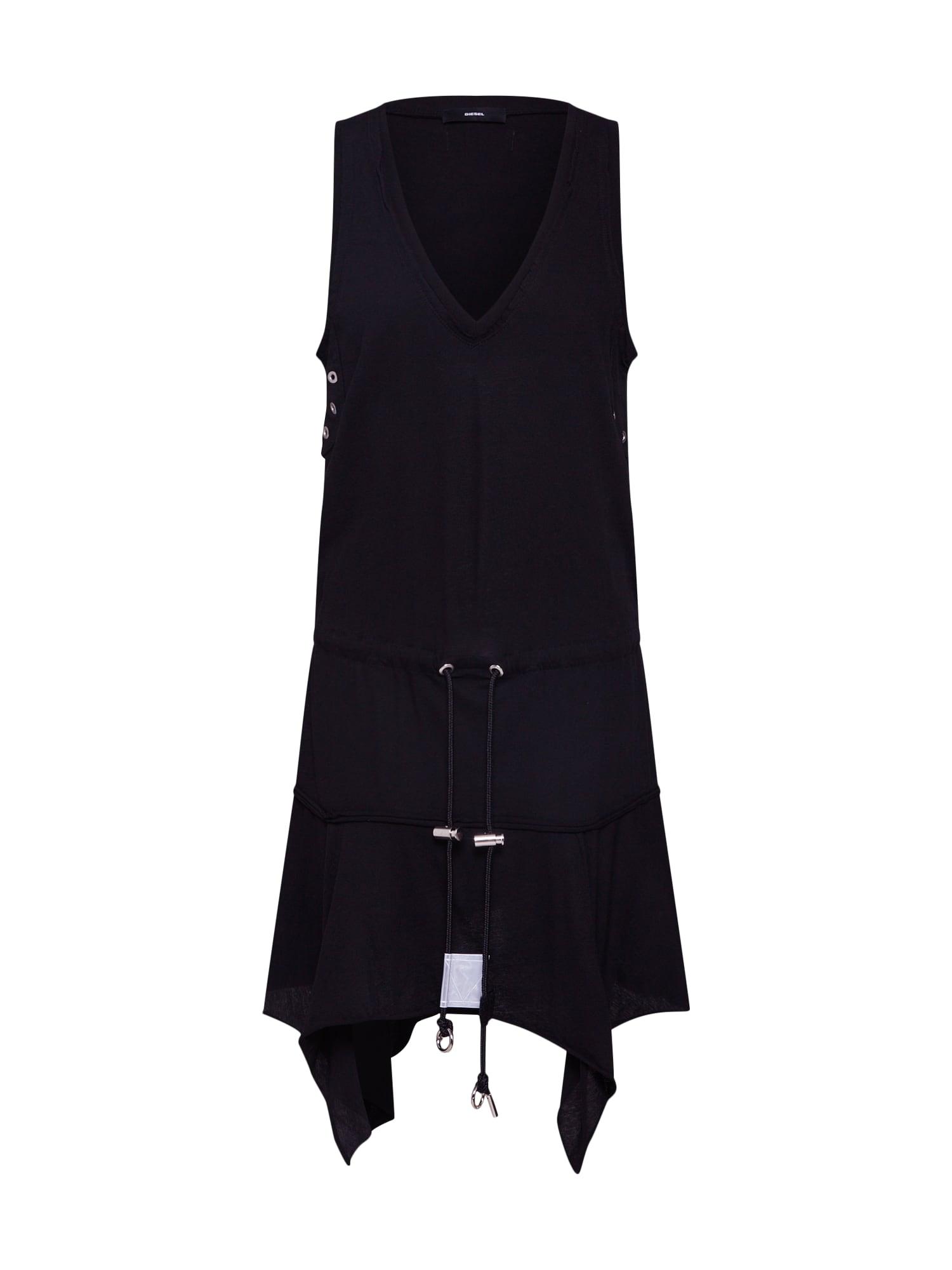 Šaty D-SLOAN černá DIESEL