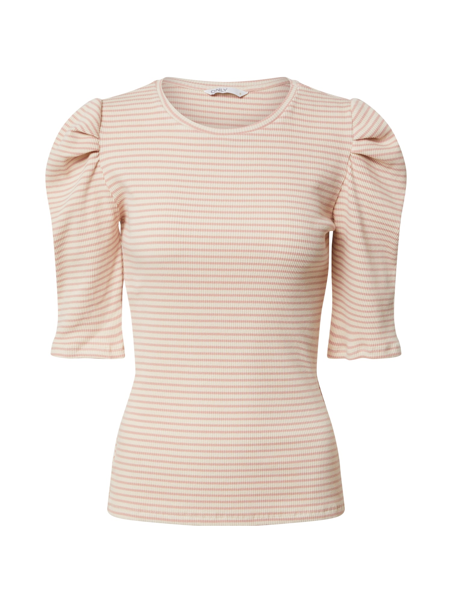 ONLY Tričko 'ONLTENNA'  ružová / biela