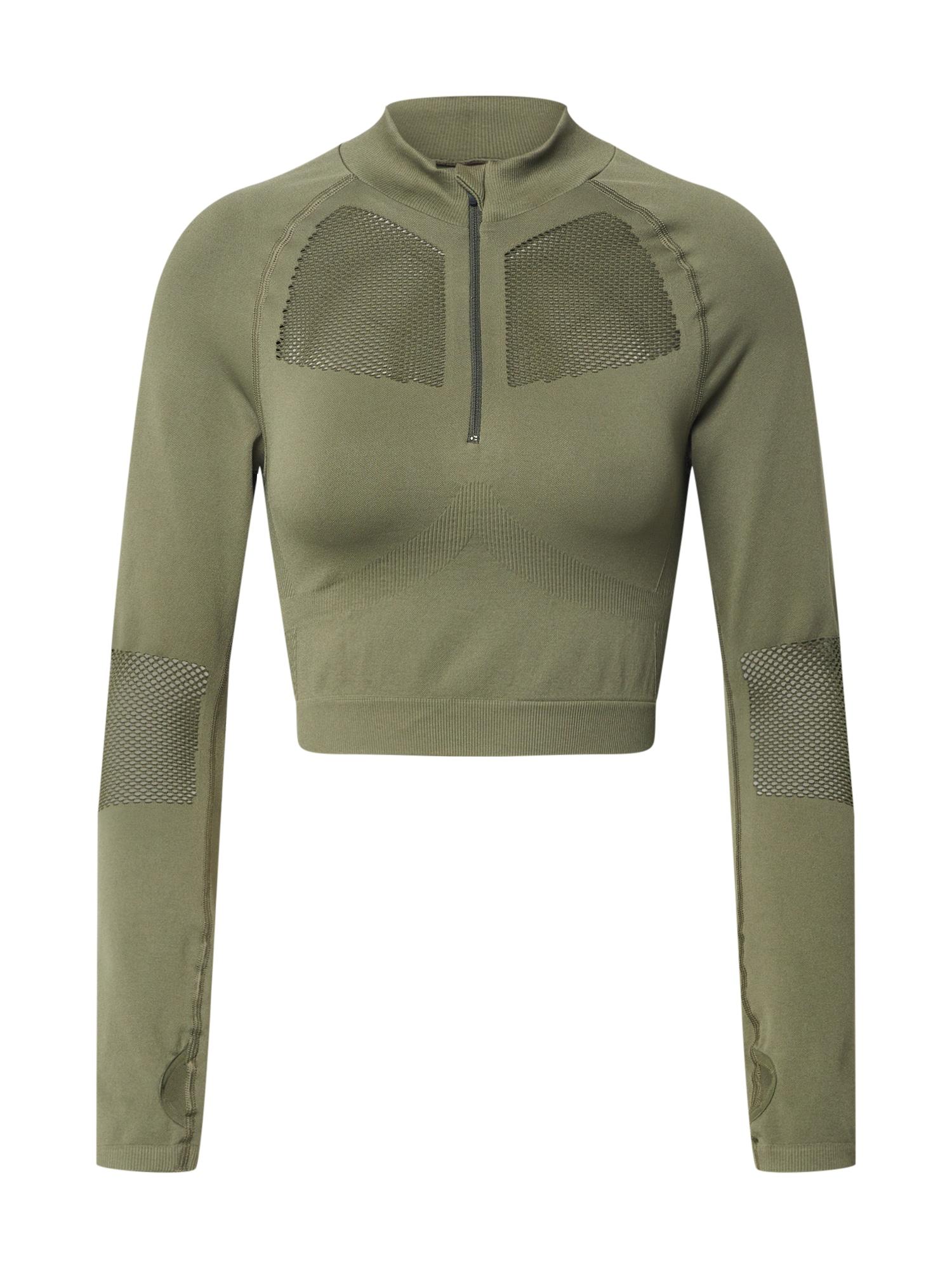 NU-IN Sportiniai marškinėliai alyvuogių spalva