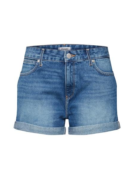 Hosen für Frauen - Jeans 'Boyfriend' › Wrangler › blau  - Onlineshop ABOUT YOU