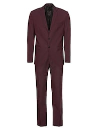 Herren SELECTED HOMME Anzug SLHSLIM-MYLOLOGAN FUDGE SUIT B rot | 05713750464286