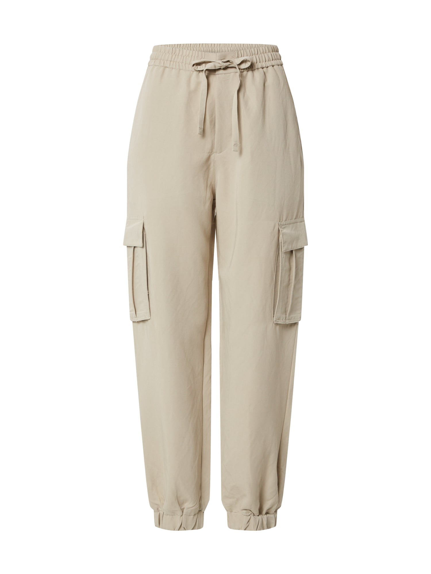 Urban Classics Pantaloni cu buzunare 'Twill Cargo'  bej
