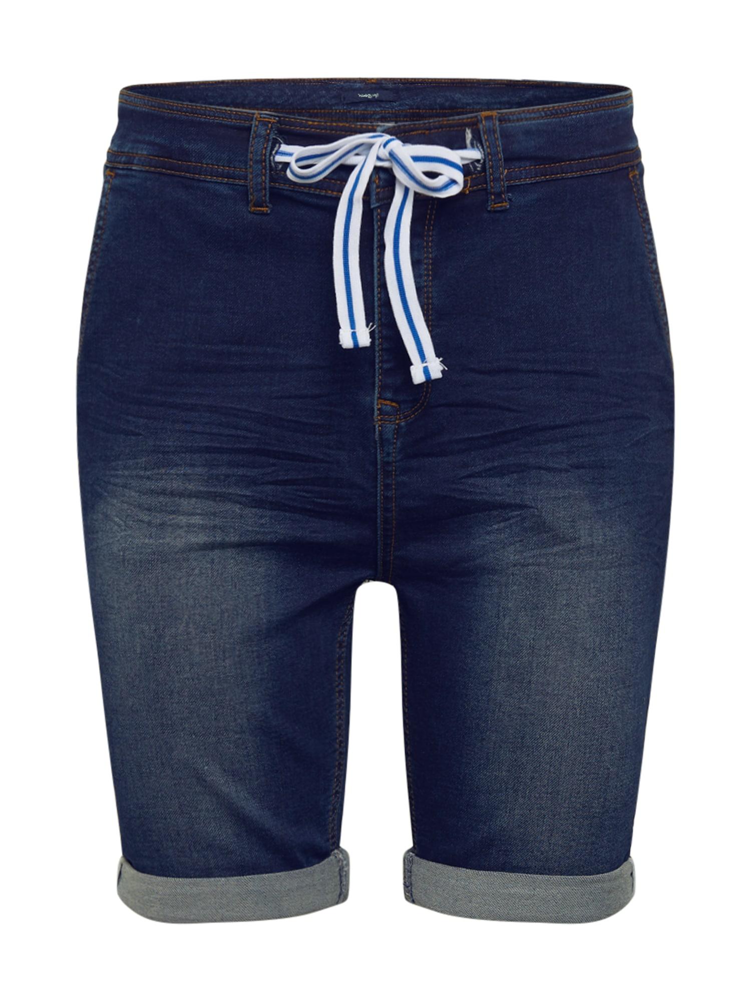 Hailys Men Džinsai 'Tom' tamsiai (džinso) mėlyna