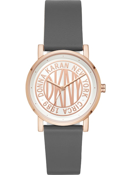 Uhren für Frauen - DKNY Uhr rosegold grau  - Onlineshop ABOUT YOU