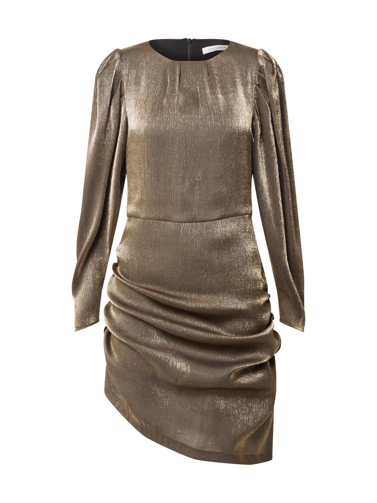 Sofie Schnoor Kokteilinė suknelė rusvai pilka