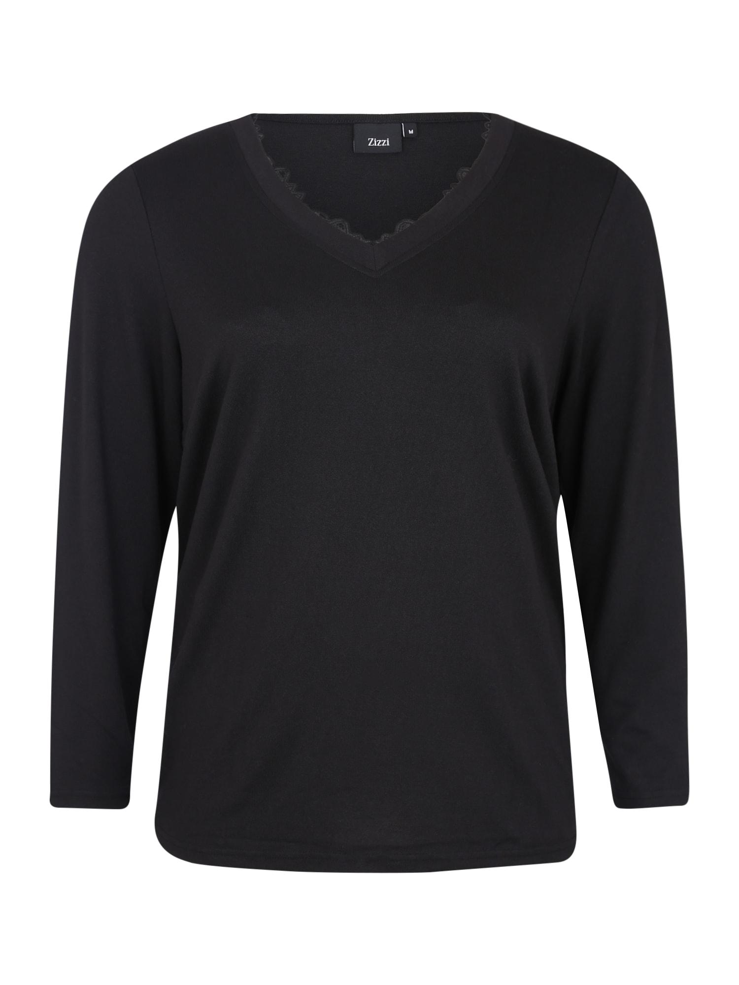 Zizzi Marškinėliai 'MLUCCA' juoda