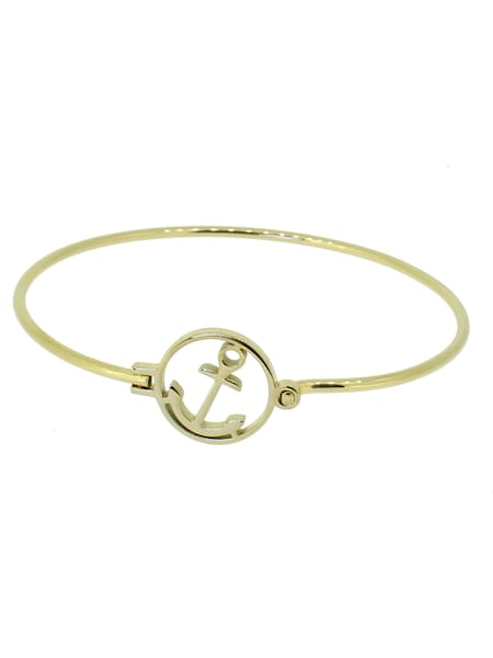Armbaender - Armreif 'Glamour Collection' › Hafen Klunker › gold  - Onlineshop ABOUT YOU
