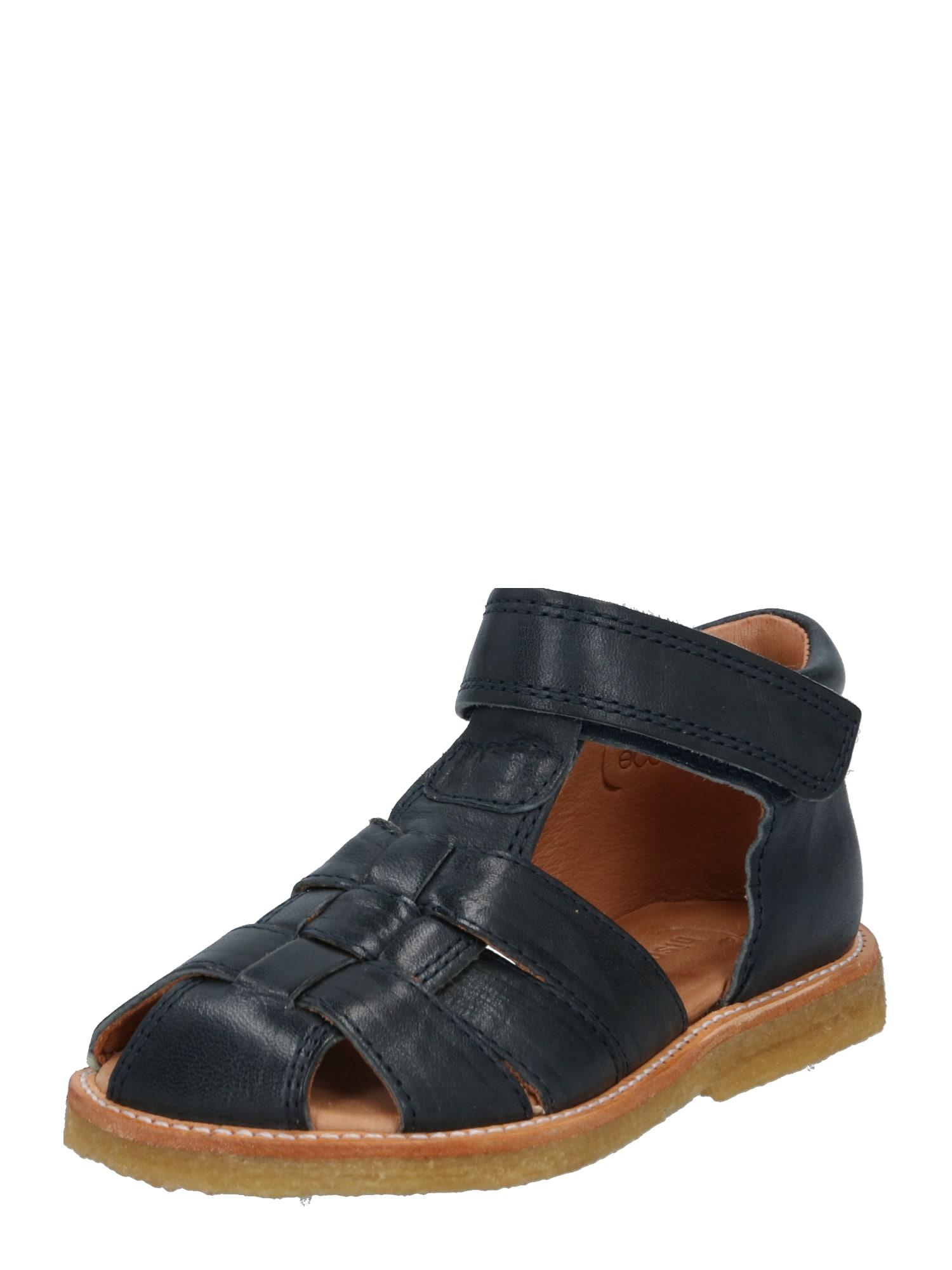 BISGAARD Atviri batai tamsiai mėlyna