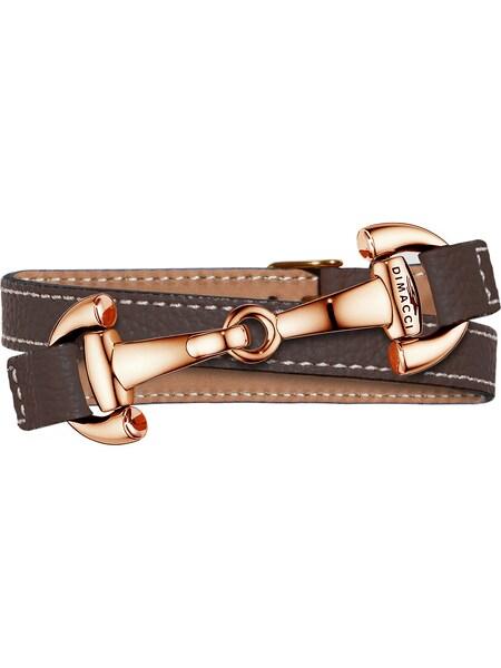 Armbaender für Frauen - Dimacci Armband cognac  - Onlineshop ABOUT YOU