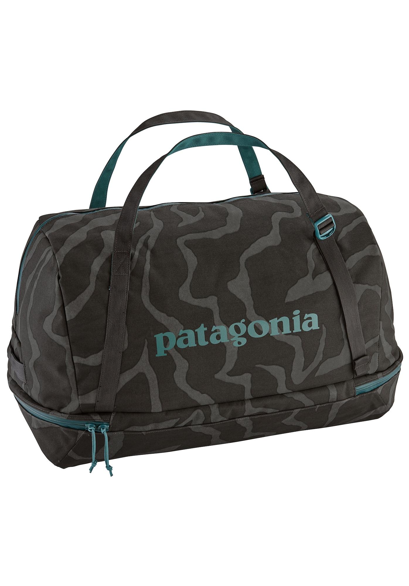 PATAGONIA, Herren Sporttas Planing Duffel, pastelblauw / basaltgrijs / zwart