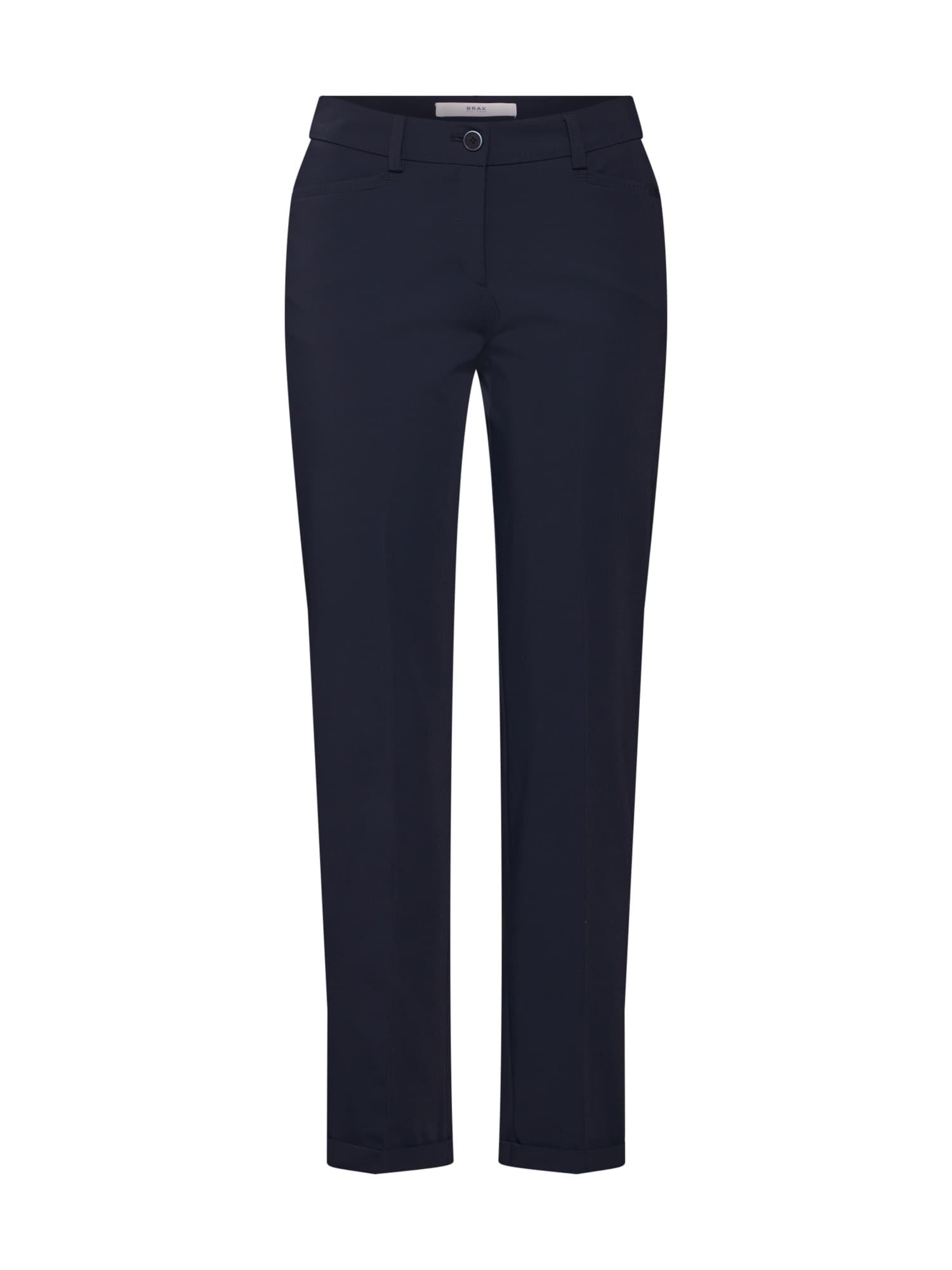 BRAX Kelnės su kantu 'Maron' tamsiai mėlyna