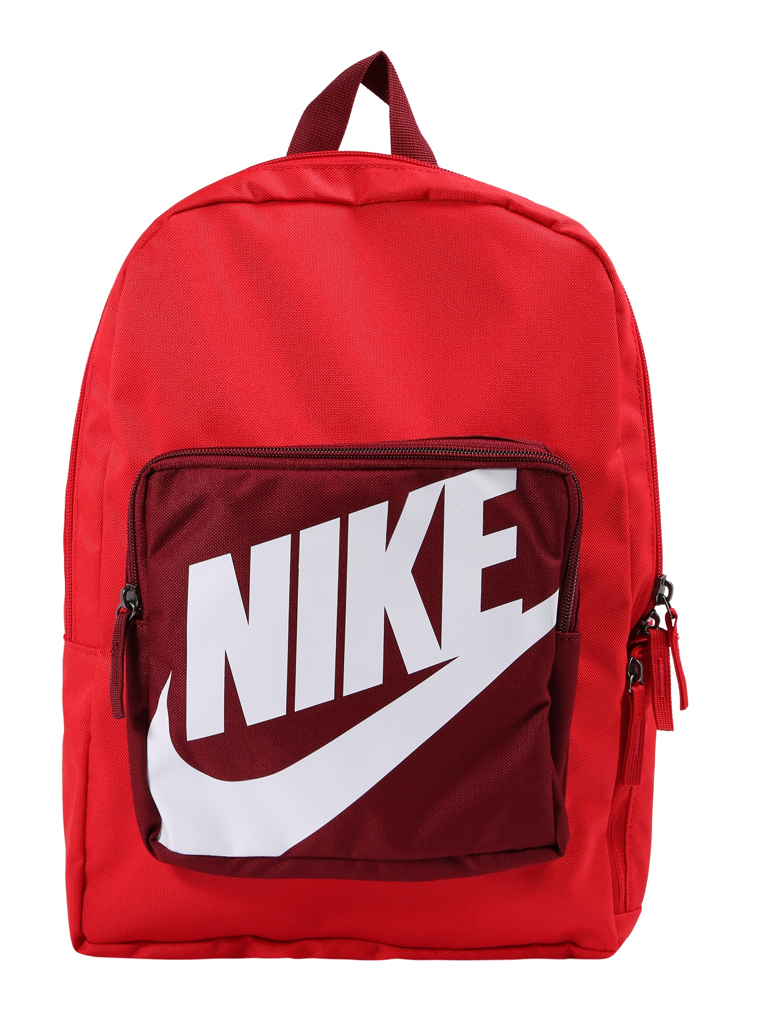 Batoh červená merlot bílá Nike Sportswear