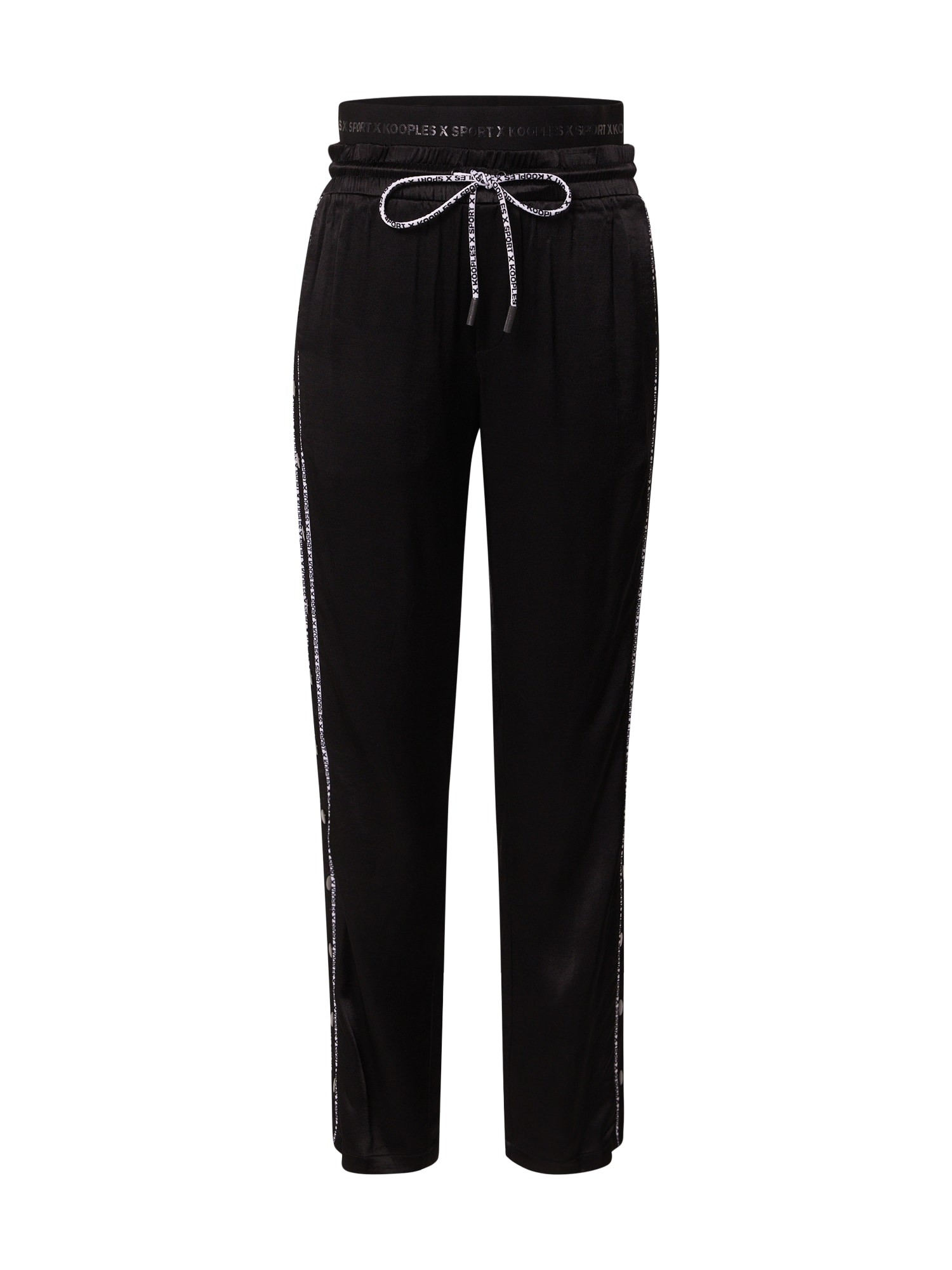 THE KOOPLES SPORT Nohavice 'Pantalon'  čierna