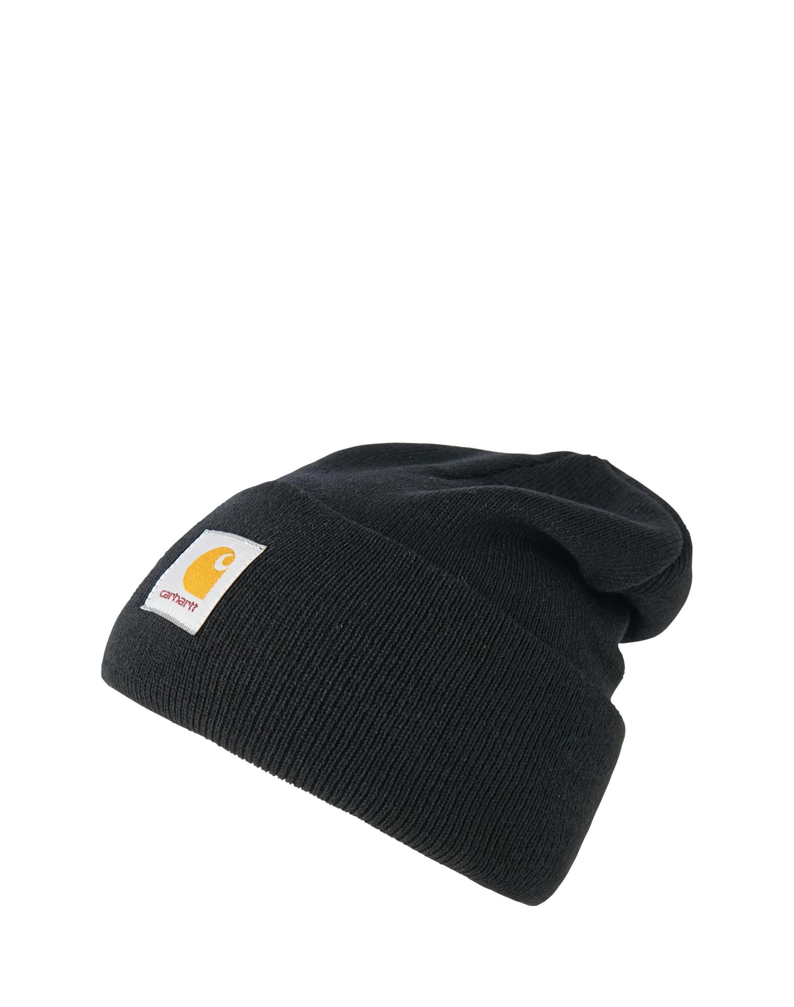 Carhartt WIP Megzta kepurė juoda