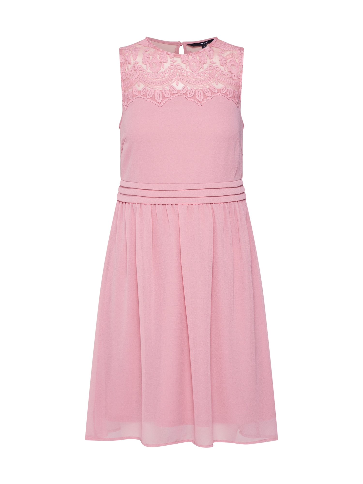 Letní šaty Vanessa růžová VERO MODA