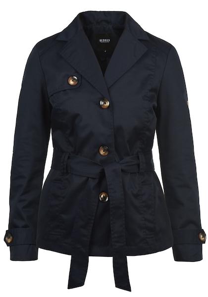 Jacken für Frauen - Desires Trenchcoat 'Trixie' dunkelblau  - Onlineshop ABOUT YOU