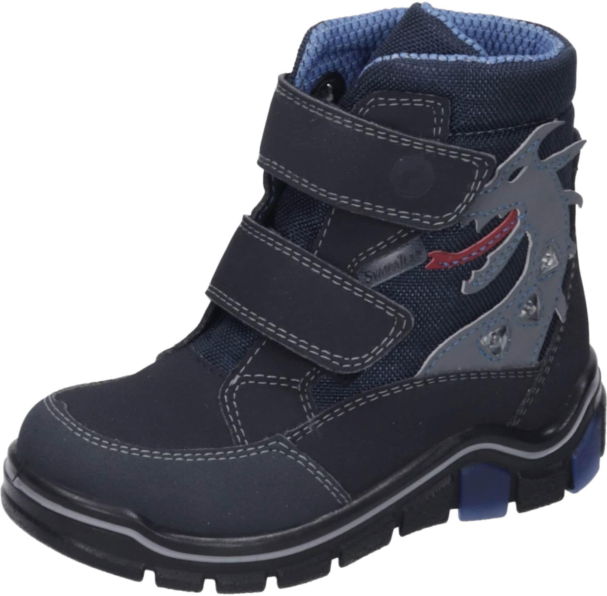RICOSTA Auliniai batai su kulniuku pilka / nakties mėlyna