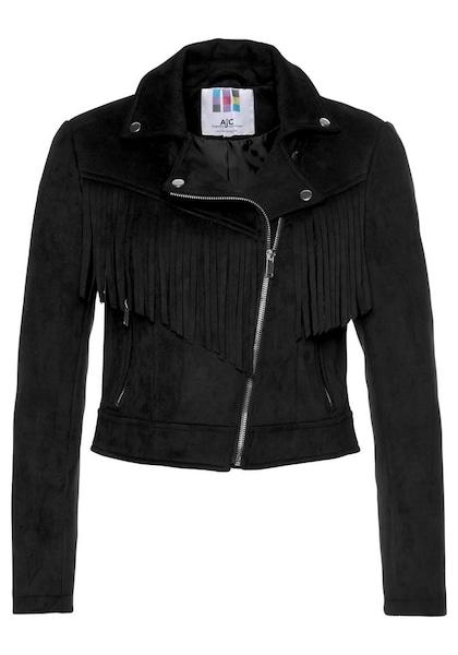 Jacken für Frauen - AJC Bikerjacke schwarz  - Onlineshop ABOUT YOU