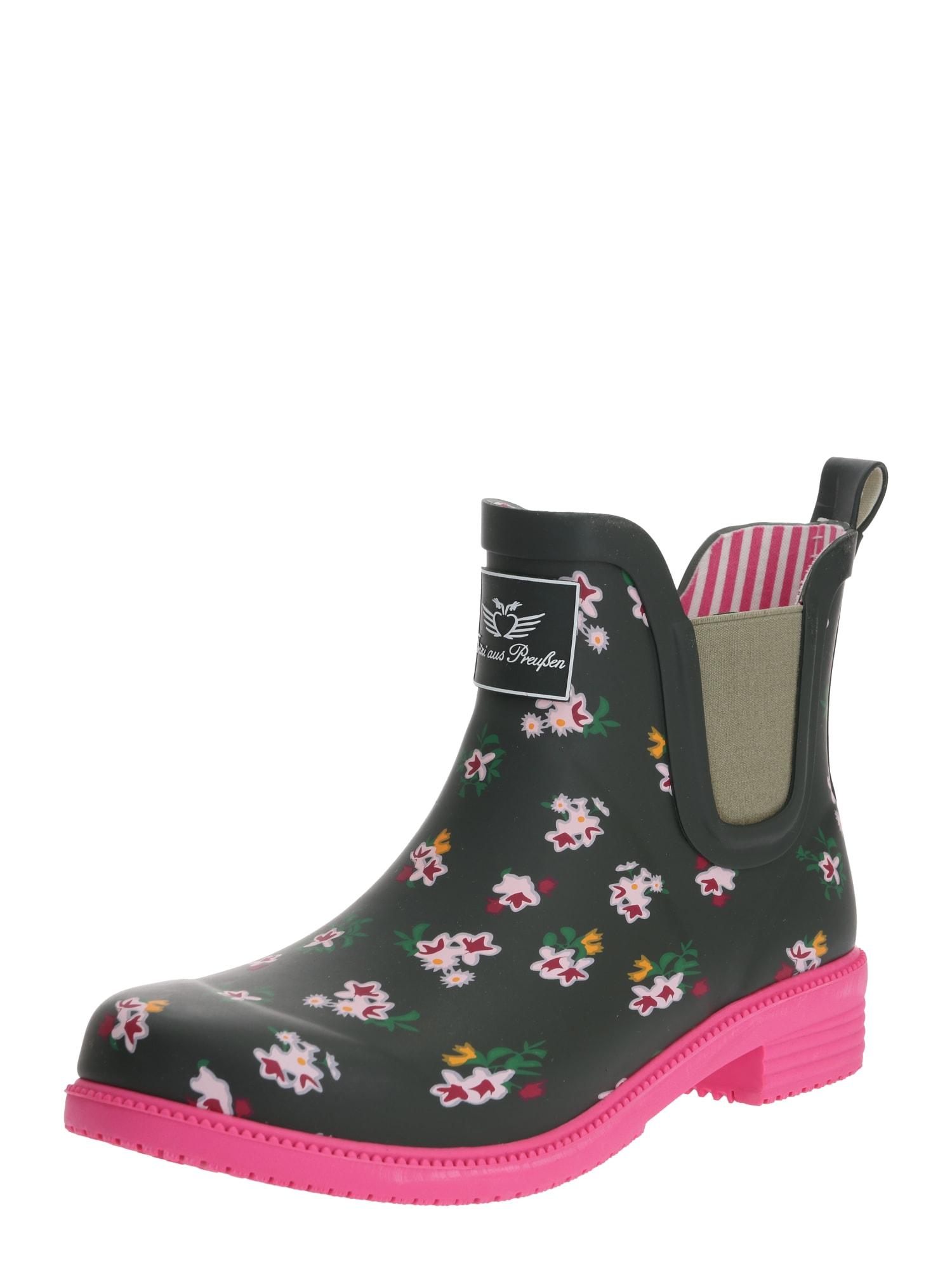 Fritzi aus Preußen Guminiai batai 'Alika' rožinė / įdegio spalva