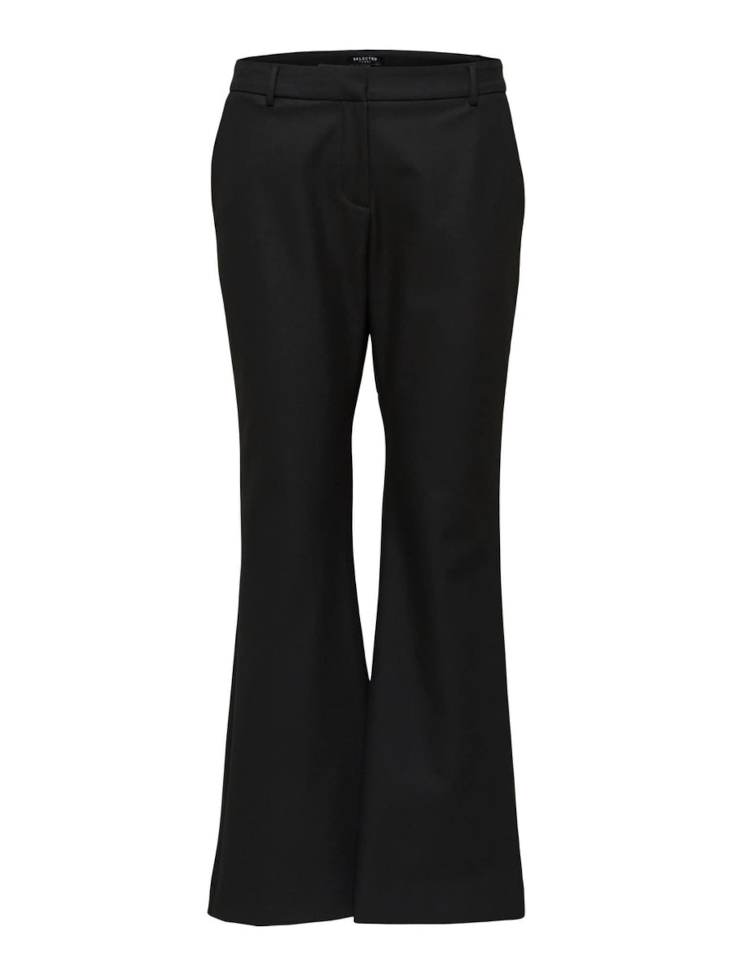 SELECTED FEMME Kelnės juoda