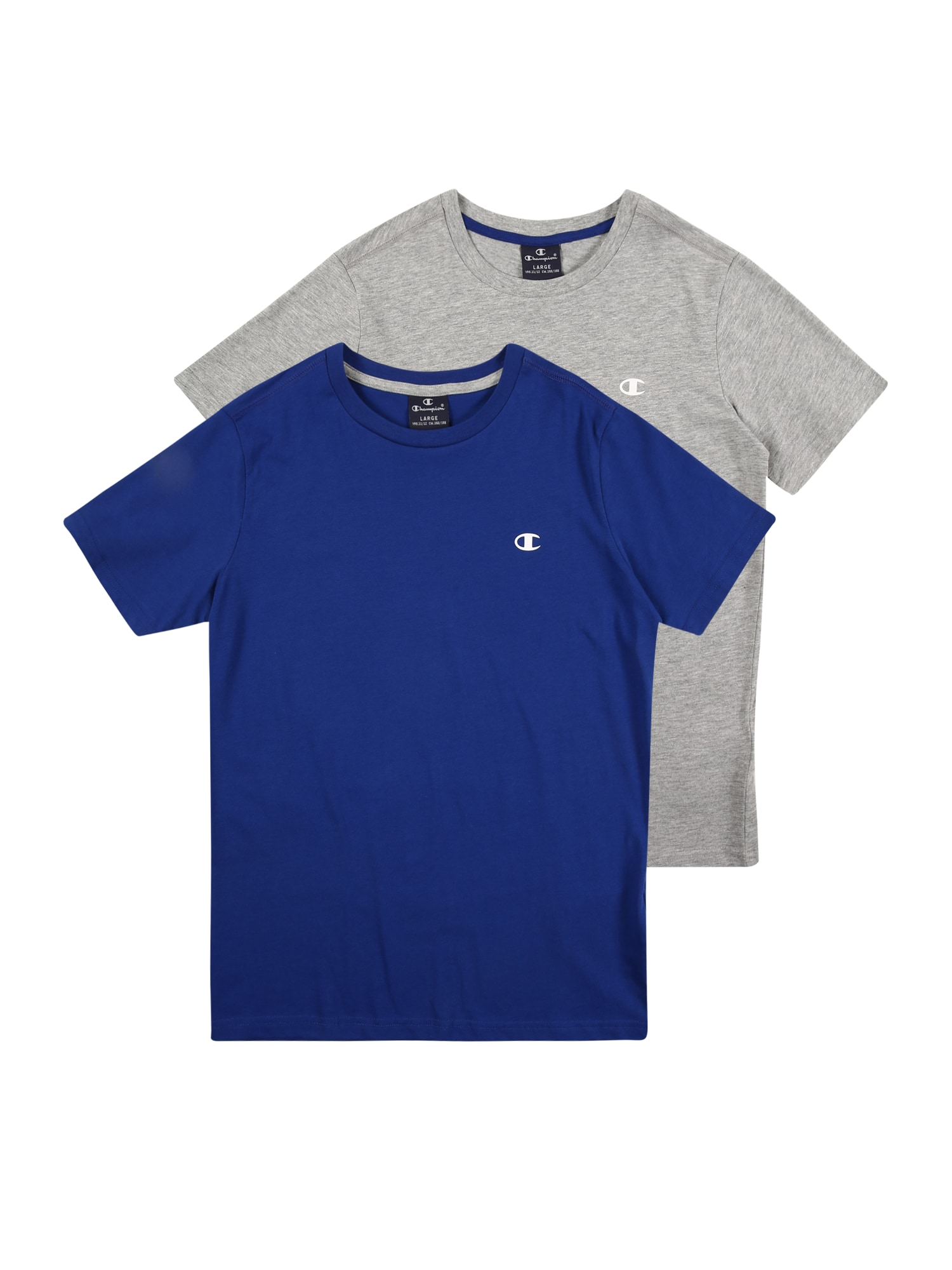 "Champion Authentic Athletic Apparel Marškinėliai sodri mėlyna (""karališka"") / margai pilka"