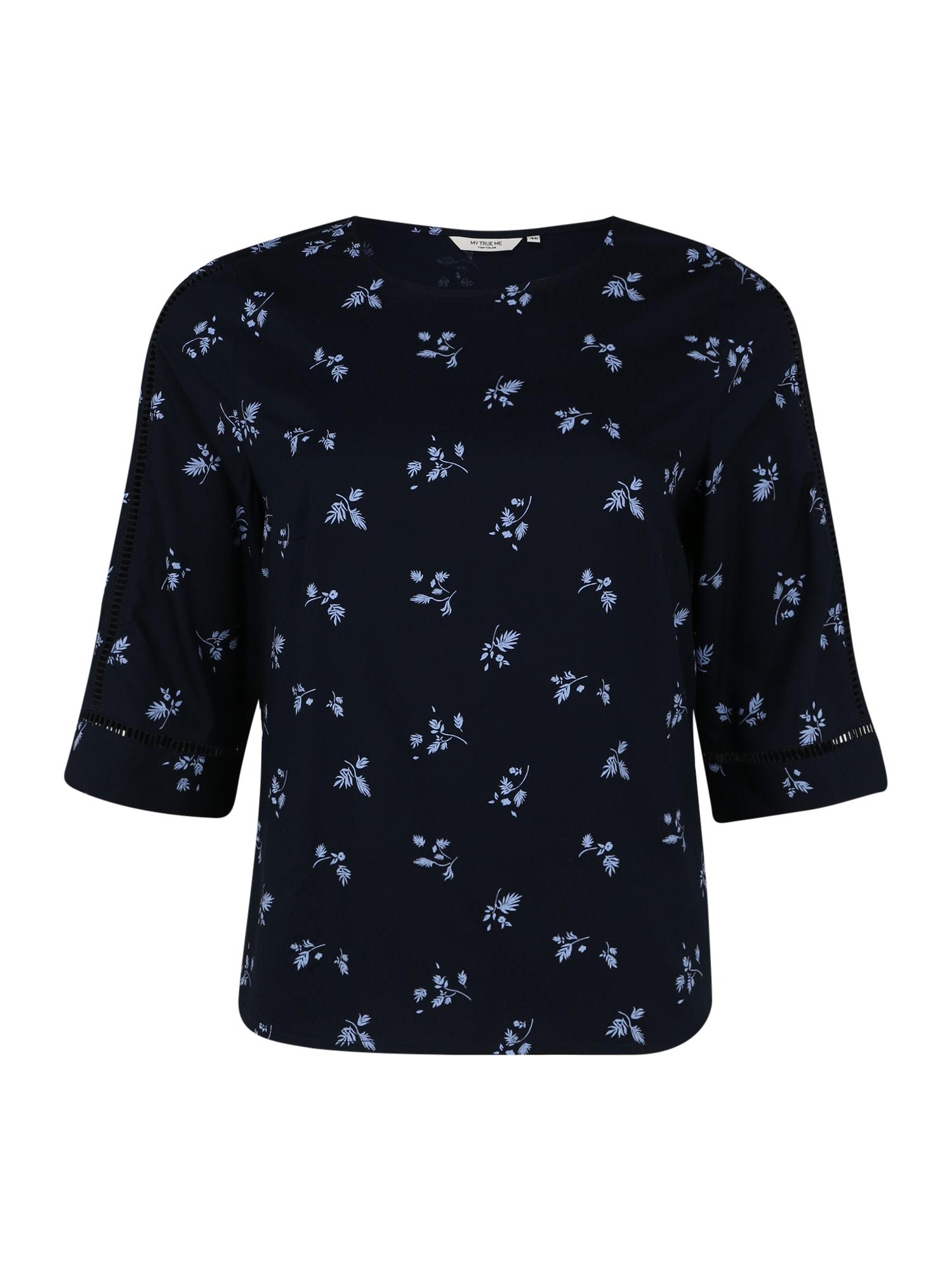 MY TRUE ME Marškinėliai šviesiai mėlyna / tamsiai mėlyna