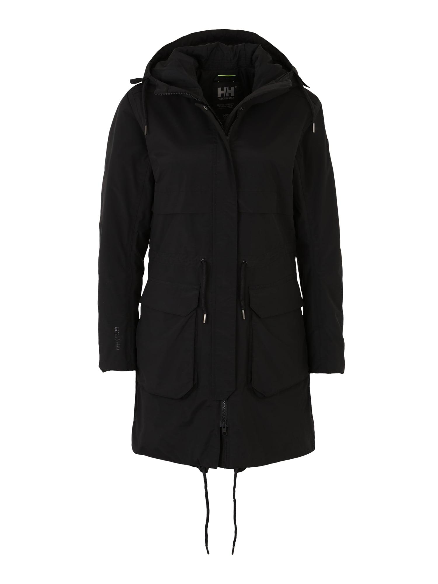 Outdoorový kabát BOYNE černá HELLY HANSEN