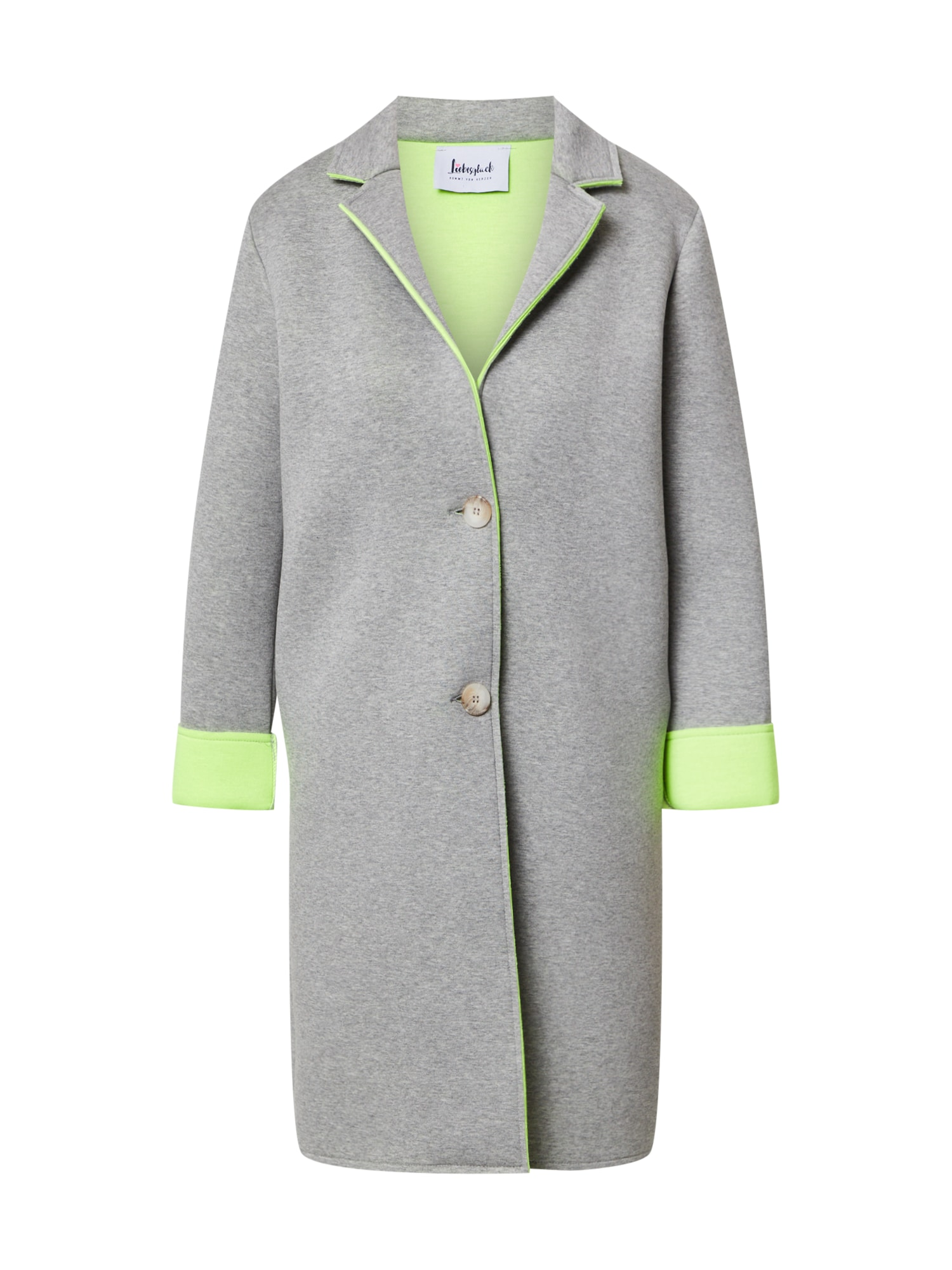 Liebesglück Rudeninis-žieminis paltas margai pilka
