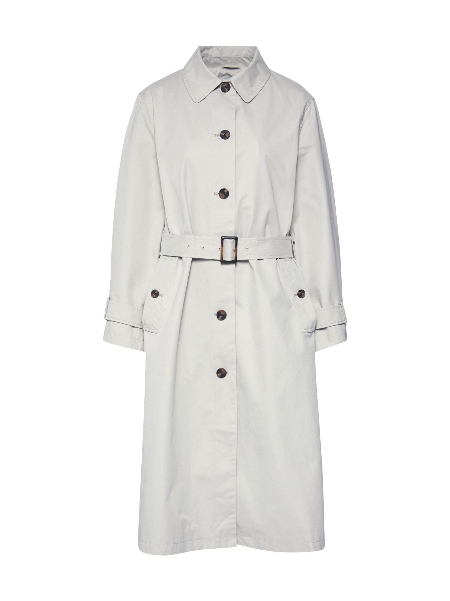 Pepe Jeans Rudeninis-žieminis paltas 'LAUREN' pilka