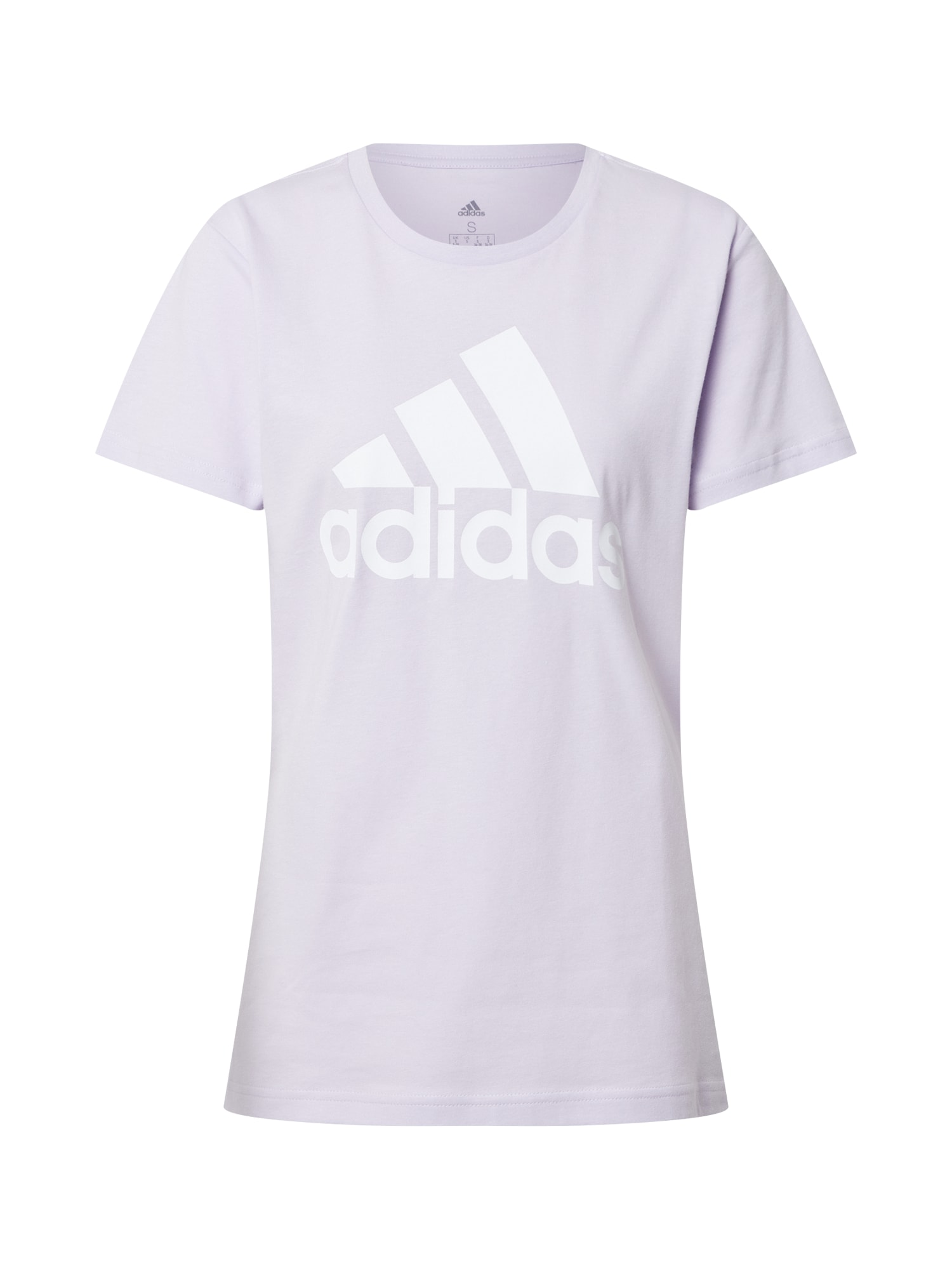ADIDAS PERFORMANCE Sportiniai marškinėliai pastelinė violetinė / balta